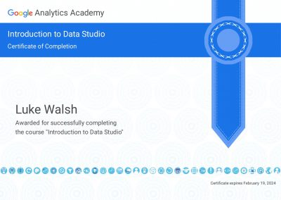 Introduction to Data Studio